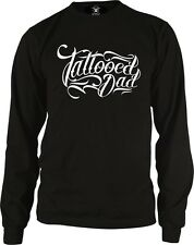 Tattooed Dad Father Papa Ink Tattoos Artist Gift Idea Long Sleeve Thermal