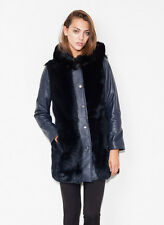 UTERQUE (ZARA LUX) | TUSCANY FUR NAPPA COAT | NEW COLLECTION 2014 | 0705/500