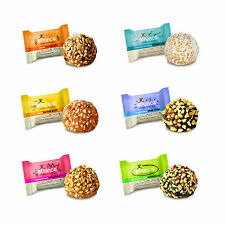 BOUNCE NATURAL ENERGY BALLS -HIGH PROTEIN WHEY BALL -GLUTEN FREE 6x42g FREE POST