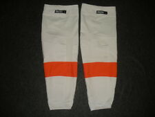 Philadelphia Flyers Pro Stock Reebok Edge Hockey Socks RBK NHL Away White