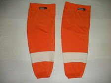 Philadelphia Flyers Pro Stock Reebok Edge Hockey Socks RBK NHL Home Orange