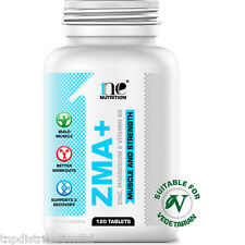 1NE NUTRITION ZMA 120 TABLETS POWER MUSCLE GROWTH TESTOSTERONE GAINER GAIN BOOST