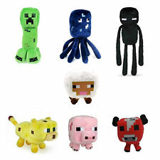 Minecraft Enderman Baby Mooshroom Pig Squid Ocelot Creeper Plush Soft Toy Gift