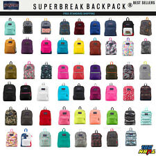 JANSPORT SUPERBREAK T501 BACKPACK ORIGINAL 100% AUTHENTIC SCHOOL BAG  NEW BOOK