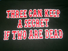 "HELLS ANGELS SUPPORT T-SHIRT ""2 R DEAD"""