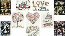 BOTHY THREADS KIM ANDERSON LOVE CROSS STITCH KITS TREE BLOSSOMS WOO ELLY HEART