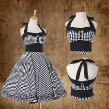 ❤XMAS CLEARANCE SALE❤ VINTAGE 50s 60s ROCKABILLY PIN UP SWING EVENING PROM DRESS