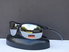 X-Loop Designer Mens Mirror Revo Sport Sunglasses Biker Cycling Shades +Soft Bag