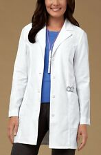 "Cherokee 32"" Classic Lab Coat White 2300 WHT NWT Choose Size"