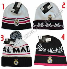 NEW! 2014-2015 REAL MADRID  BEANIE OFFICIAL WINTER SKULL CAP AUTENTIC