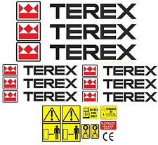 Decal Sticker Graphics for TEREX. Mini Digger Dumper Roller Pelle Excavator