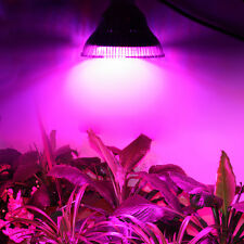 NEW 24W/36W/52W/58W LED Grow Lamp Garden Hydroponic Plant Veg Flower Light 220V