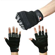 Mountaineering Sports Cycling Bike Hunting Trainning  Half Finger Gloves Gym New