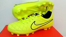NIKE JUNIOR KIDS JR TIEMPO GENIO FG FOOTBALL SOCCER BOOTS CLEATS