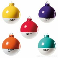 Pantone Universe Christmas Baubles. Choice of 9 colours. Great designer gift