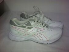 New! Reebok Women's DMX Ride Walking Athletic Shoes-White with Pink Accent (F21)