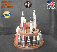 Solid Wood E-cig / Ecig / Vape Stand Display Holder /For Him and Her - New