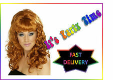 Super Model, Pin Up, Movie Star, Beehive Beauty, Blonde & Black Flick Up Wigs
