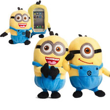 Cute 3D Despicable ME Stuart Plush Toy Doll Case Cover For Motorola Cell Phones