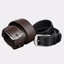 New Men Metal Buckle Leather Waistband Vintage Classic Pin Buckle Belts Cheap