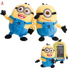 3D Cute Despicable ME Stuart Toy Doll Plush Case Cover For Sony Cell Phones