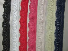 Beautiful elastic lace ribbon. Color Option Free Shipping!