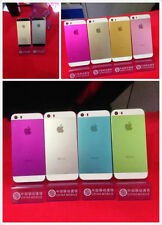 Colorful Replacement Metal Back Battery Housing Cover Hard Case For iPhone 5s