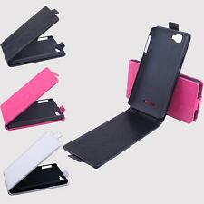 Brand New Leather Case Cover Skin For Explay Fresh Smartphone