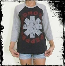 Unisex Red Hot Chili Peppers Raglan 3/4 Sleeve T-Shirt Jumper Sweater M L