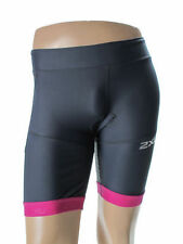 2XU Compression Long Distance Tri Shorts - Women's Small - Gray/Violet msrp$110