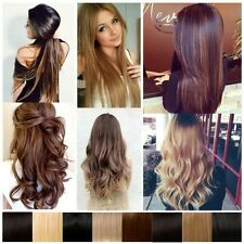 For sale 3/4 Full Head Half Head Wig Clip In Hair+1piece Wig Cap Real Quality L1