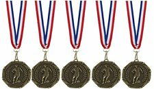 Football Medals with Ribbons Set of 20 or 40 FREE ENGRAVING and FREE POST