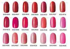 RED PINK ASSORTED UV LED GEL POLISH LACQUER BOTTLE FOR NAIL ART MANI .5OZ 15ML