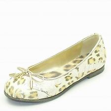 RC CB40862 Girls Roberto Cavalli  Ballet Flat Jaguar Leather