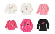 nwts 2t 3t 3  U Pic Cheery All The Way Yorkie Bling Snowflakes Gymboree top
