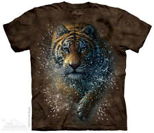 Tiger Splash T-Shirt from The Mountain - Adult S-5X & Child S-XL