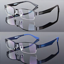 TR90 Men's Sport Fashion Half rimless Eyeglass Frame Optical Eyewear Rx 9585