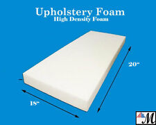 "Seat Foam Cushion Replacement Upholstery Per Sheet - All Sizes! 18""x20"""