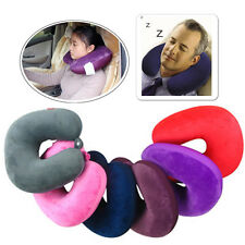 MICROBEAD TRAVEL SUPERSOFT NECK PILLOW CUSHION SLEEP SUPPORT MASSAGE CAR HOME