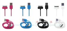 USB Data Sync Charger Cable 1M Lead for iPhone 3GS 4/4S & iPad 2 3 (up to iOS6)