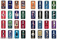 Samsung Galaxy S5 NFL Dual Hybrid Rugged High Impact Armor Cell Phone Case Cover