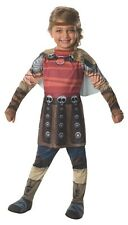 Dreamworks How to Train your Dragon Kids Girls Astrid Play Dress Up Costume NEW