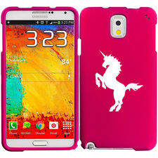 For Samsung Galaxy Note 2 3 4 Rubber Hard Case Cover Unicorn