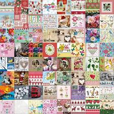 Decoupage Tissues Napkins Christmas Birthday Party Craft Wood Paper Mache 20 Pk