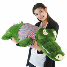 Christmas Gift Lovely Crocodile Hold pillow Cushion Bedroom Decoration Plush toy