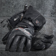 RST Thermotech HEATED Waterproof Motorbike Lithium Battery Gloves S M L XL 2XL