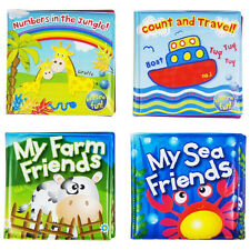 Baby Bath Books Plastic Coated Fun Educational Learning Toys for Toddlers & Kids