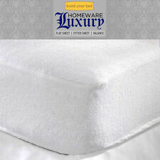 New Luxury Terry Waterproof Fitted Sheet Mattress Protector Cover