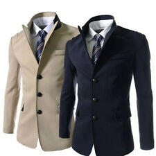 CLASSIC JACKET COAT Men Formal Tops Slim Fit Blazer CHEAP XMAS SALE Outwear XS~L