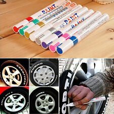 8 Colore Creative Tyre Permanent Paint Pen Tire Metal Outdoor Marking Ink Marker